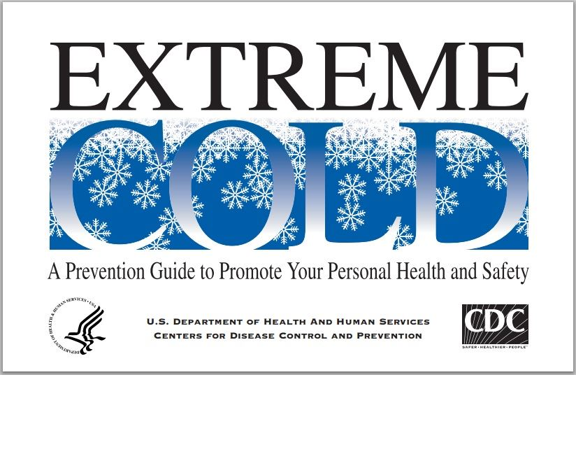 View the U.S. Center for Disease Control's Extreme Cold Prevention Guide (PDF).
